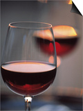 Close up of a Glass of Red Wine Print by Joerg Lehmann