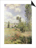 Path in Ile Saint Martin, Vetheuil Prints by Claude Monet