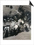 Rehearsal of the Pasdeloupe Orchestra Posters by John Singer Sargent