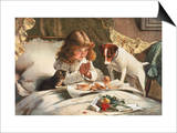 Suspense Art by Charles Burton Barber