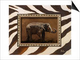 New Zebra Inspiration I Prints by Patricia Quintero-Pinto
