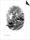 Night Train, Artwork Prints by Bill Sanderson