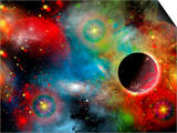Artist's Concept Illustrating Our Beautiful Cosmic Universe Print by  Stocktrek Images