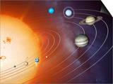 Solar System Orbits, Artwork Prints by Detlev Van Ravenswaay