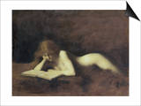 La Liseuse Prints by Jean-Jacques Henner