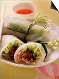 Filled Rice Paper Rolls from Vietnam Prints