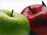 Two Apples Prints by Gustavo Andrade