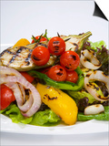 Mixed Salad with Grilled Vegetables Prints by Giannis Agelou