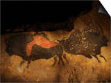 Stone-age Cave Paintings, Lascaux, France Art by Javier Trueba