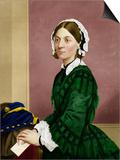 Florence Nightingale, Nursing Pioneer Posters by Maria Platt-Evans