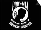 Pow-Mia Flag Posters by  Stocktrek Images