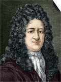 Gottfried Leibniz, German Mathematician Prints by Sheila Terry