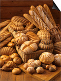 Still Life with White Bread, Bread Rolls & Bread Sticks Posters by Gerrit Buntrock