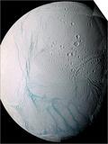 Saturn's Moon Enceladus Prints by  Stocktrek Images