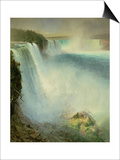 Niagara Falls, 1867 Prints by Frederick Church