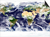 This Spectacular Image is the Most Detailed True-Color Image of the Entire Earth to Date Prints by  Stocktrek Images