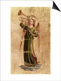 Angel with Trumpet Posters by  Fra Angelico