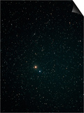 Optical Image of Mars Near the Bright Star Spica Prints by John Sanford