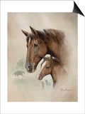 Race Horse I Posters by Ruane Manning