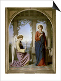 The Annunciation Prints by Eugene Emmanuel Amaury-Duval