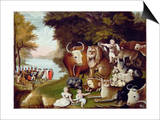 The Peaceable Kingdom Posters by Edward Hicks