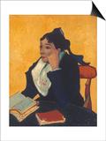 Van Gogh: L'Arlesienne, 1888 Poster by Vincent van Gogh