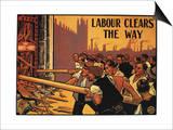 England: Labour Poster Art