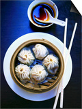Dim Sum in Bamboo Steamer (China) Prints by Dorota & Bogdan Bialy