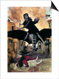 Bocklin: The Plague, 1898 Print by Arnold Bocklin