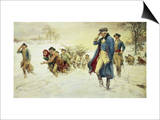 George Washington at Valley Forge Prints by Frederick Coffay Yohn