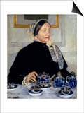 Cassatt: Lady At Tea, 1885 Prints by Mary Cassatt