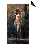 Nymph at the Source Posters by Jean-Baptiste-Camille Corot