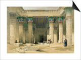 Grand Portico of the Temple of Philae, Nubia Prints by David Roberts