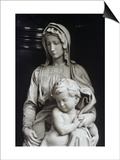 Bruges Madonna, Detail Prints by  Michelangelo Buonarroti