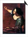 Artemisia Gentileschi Art by Artemisia Gentileschi