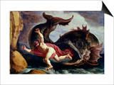Jonah and the Whale Print by Pieter Lastman