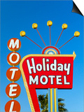Motel Sign, the Strip, Las Vegas, Nevada, United States of America, North America Posters by Gavin Hellier