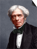 Michael Faraday, English Chemist Prints by Sheila Terry