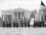 White House: Suffragettes Prints