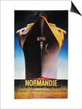 Steamship Normandie, C1935 Affischer