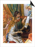 Renoir: Girls/Piano, 1892 Posters by Pierre-Auguste Renoir