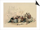 Conference of Arabs Prints by David Roberts