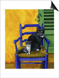 Cats of Provence (Chats de Provence) Prints by Isy Ochoa