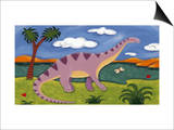 Dippy the Diplodocus Prints by Sophie Harding