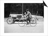 Lartigue: Automobile, 1912 Print by Henri Lartigue