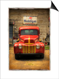 Red Truck Prints by Craig Satterlee