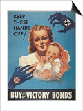World War Ii: Bond Poster Prints