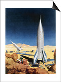 Mars Mission, 1950S Posters by Chesley Bonestell