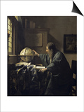 Astronomer, c.1668 Art by Jan Vermeer