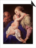 The Holy Family Plakater af Pompeo Batoni